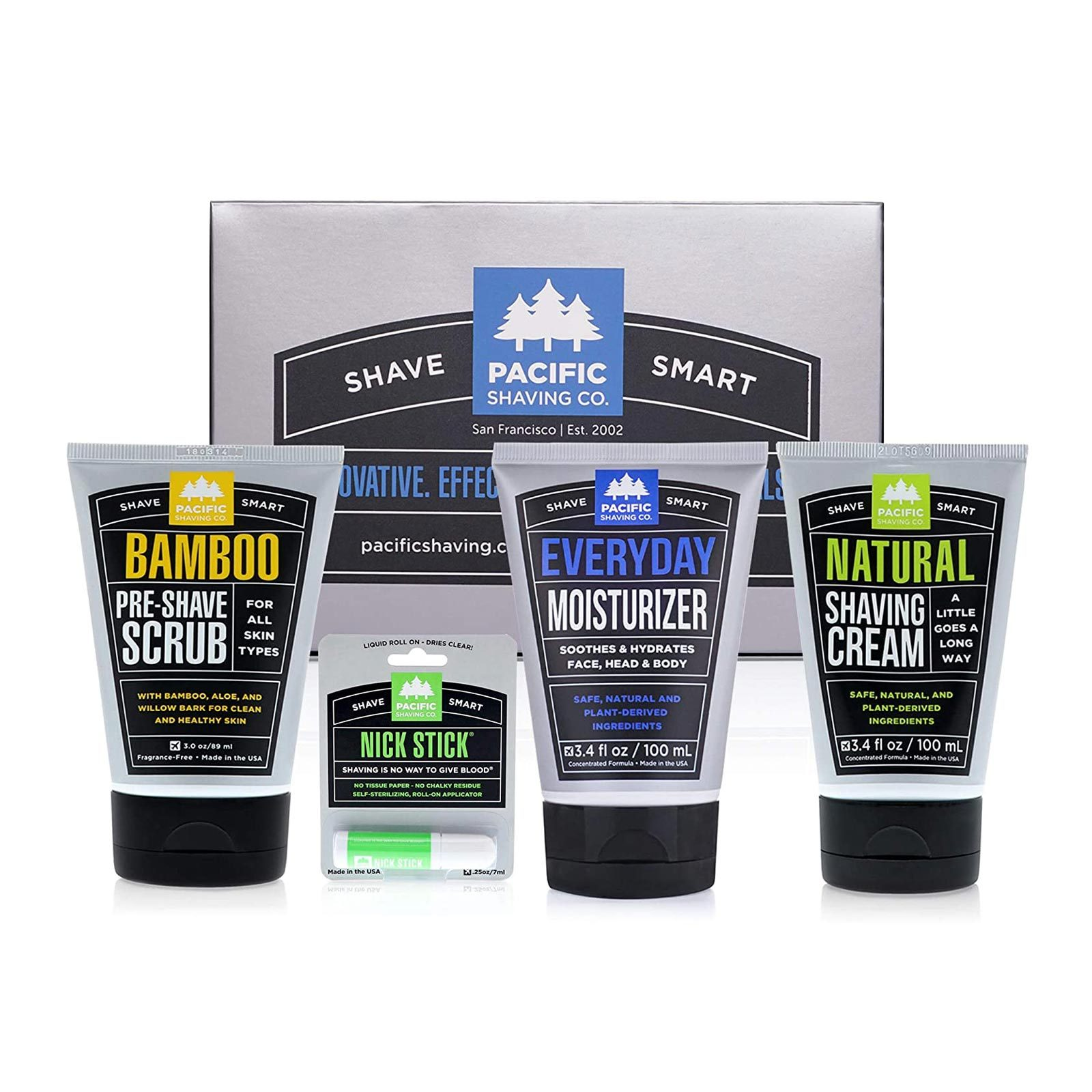 Pacific Shaving Company Shave Regimen Gift Box Set