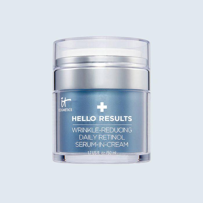 iT Cosmetics Hello Results Wrinkle-Reducing Daily Retinol Serum-in-Cream