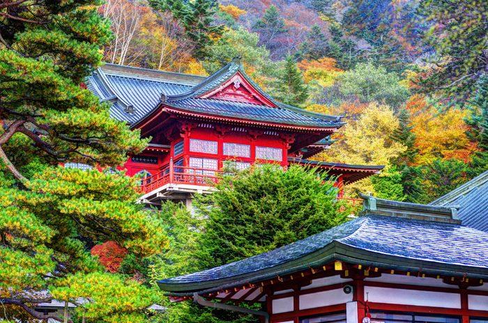 Chuzen-ji Temple in Nikko, Tochigi, Japan.