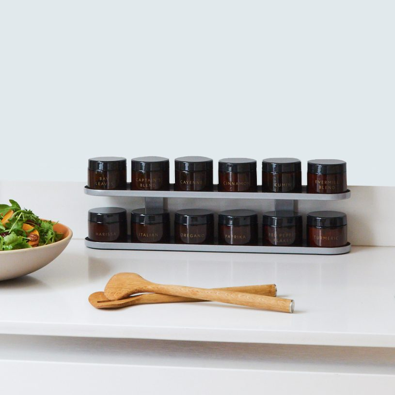 The Rack Counter Top Set of Spices