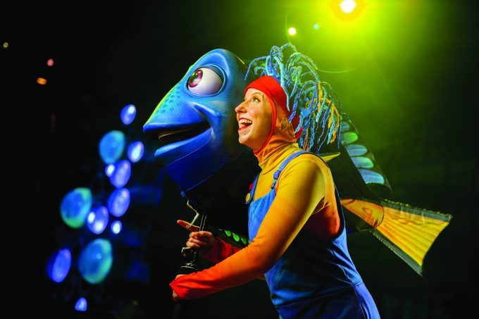 ONE DAY AT DISNEY - KATIE WHETSELL, PUPPETEER - WDW. (Disney/Kent Phillips)