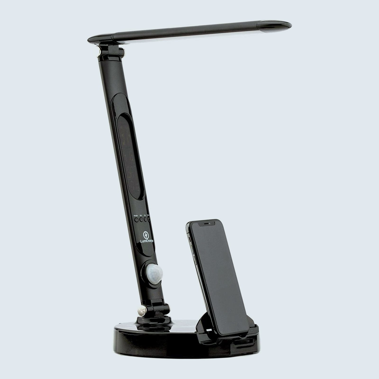 LumiCharge Smart Desk Lamp and Universal Phone Charging Dock