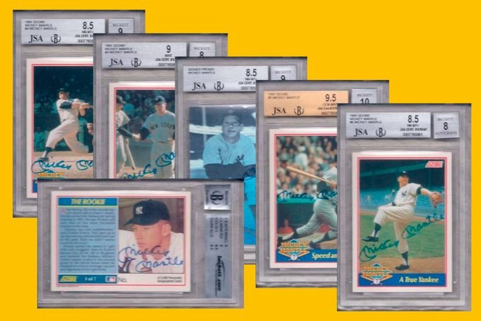 Most Expensive Listing On Amazon - a set of baseball cards