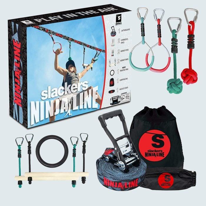 Slackers Ninjaline Ninja Warrior Training Obstacle Course