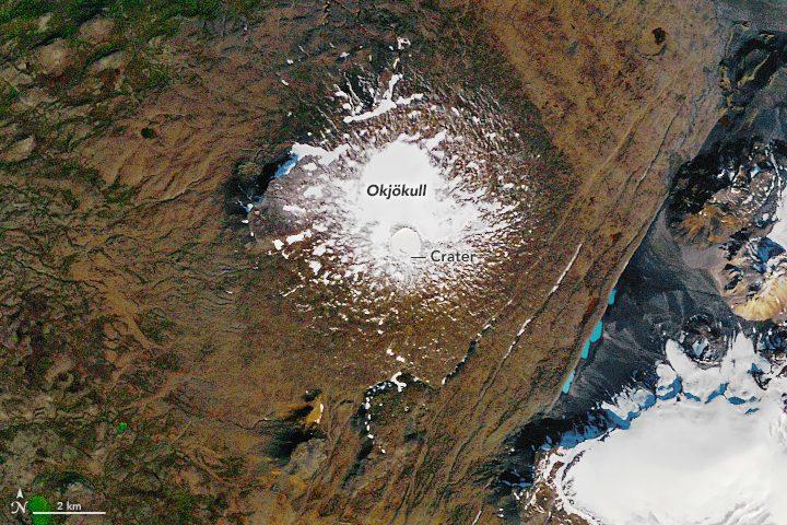 glacier from space nasa