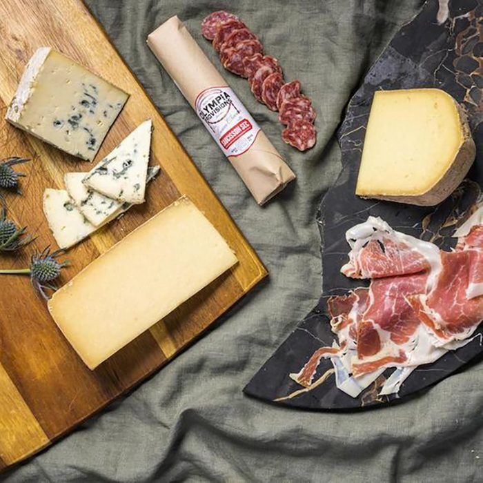 Saxelby Cheesemongers Cheese and Charcuterie Pairing