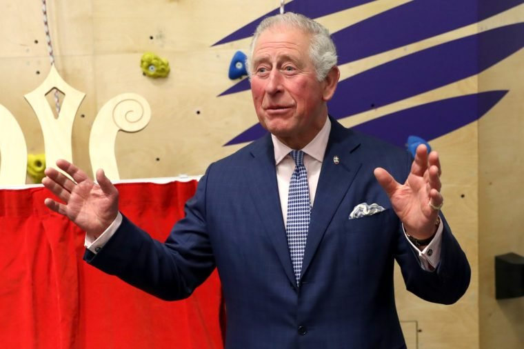 Prince Charles makes a speech as he unveils a plaque to commemorate his visit to the opening of the Prince's Trust new South London Centre 17 Dec 2019