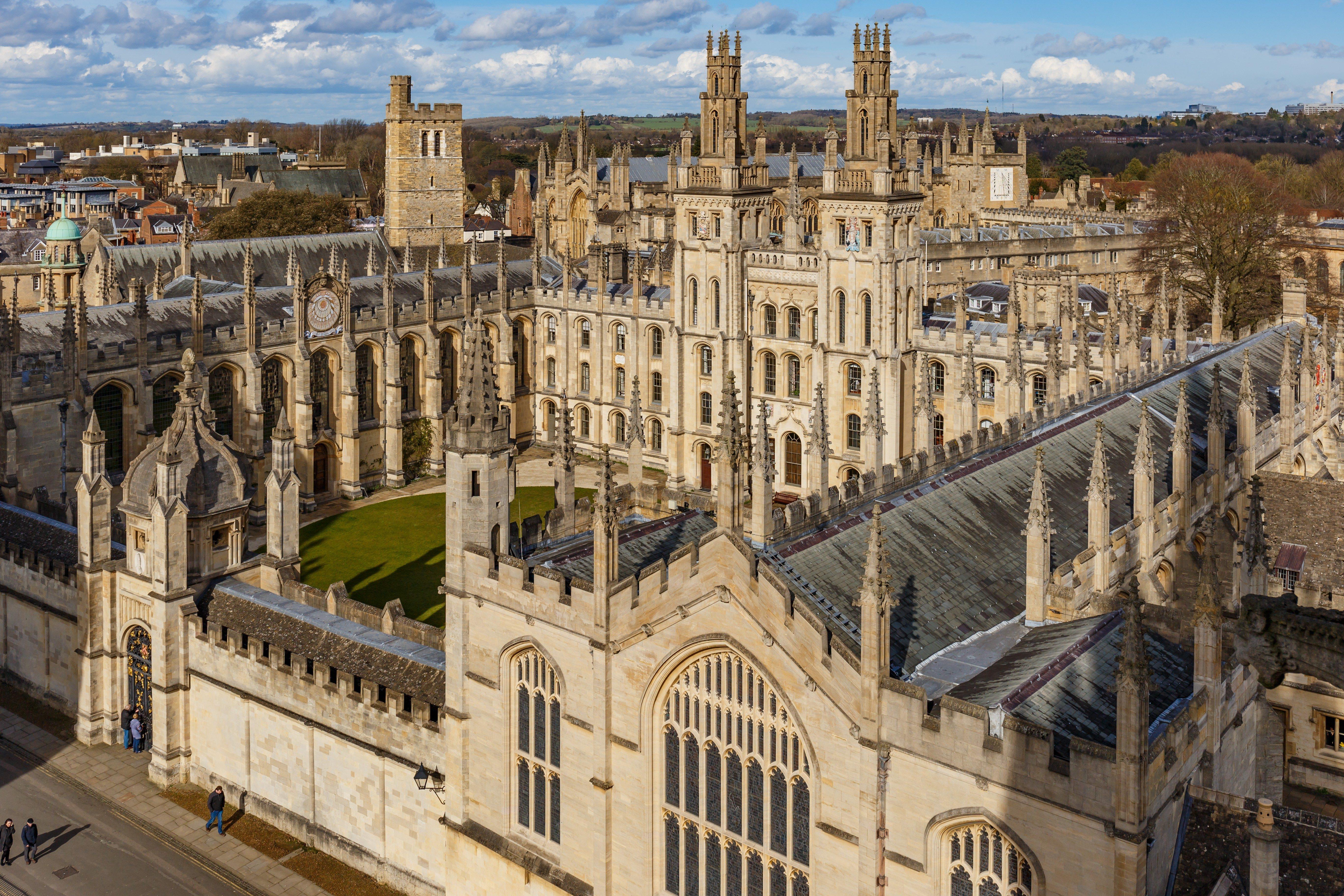 Oxford in spring