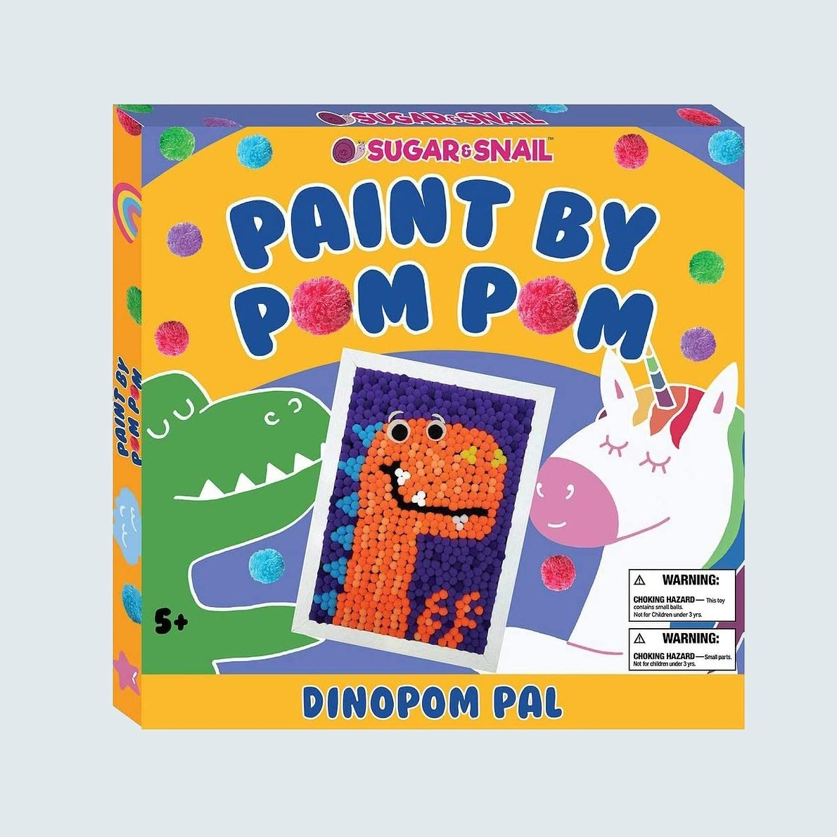 Sugar & Snail Paint by Pom Pom DinoPom Pal