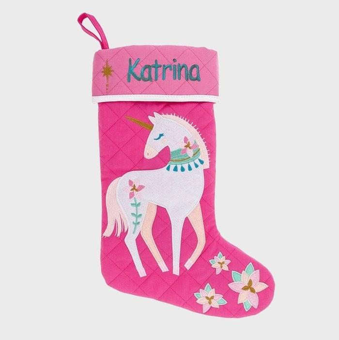 Personalized Unicorn Christmas Stockings Via Etsy