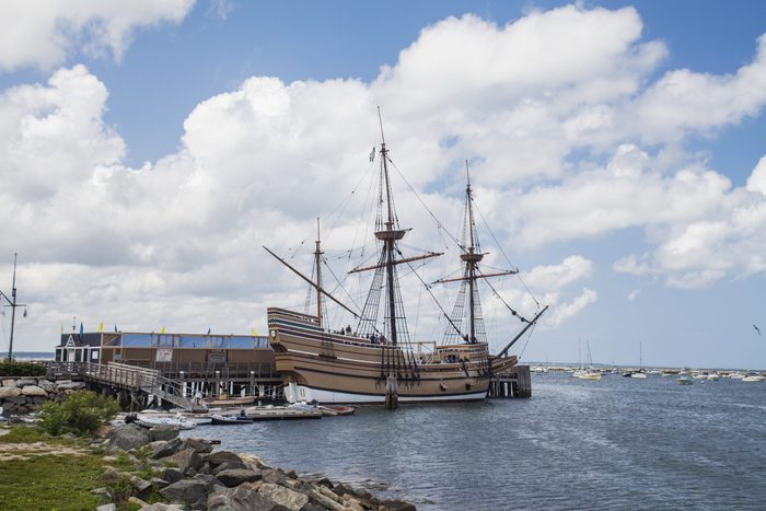 Ship Mayflower II, Plymouth, Massachusetts