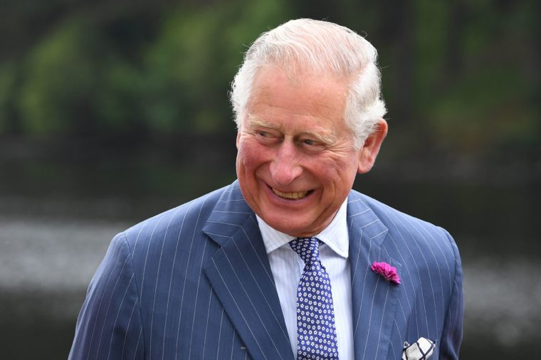 Prince Charles visits Upper Lake, Glendalough on Day Two of his tour of Ireland. 21 May 2019