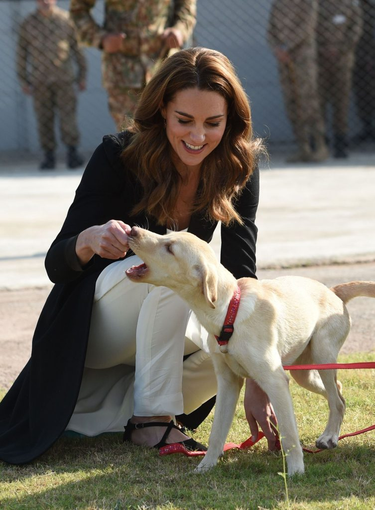 kate middleton puppy love