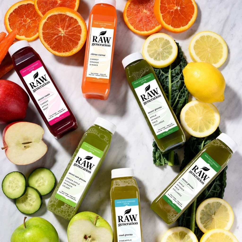 raw generation juice