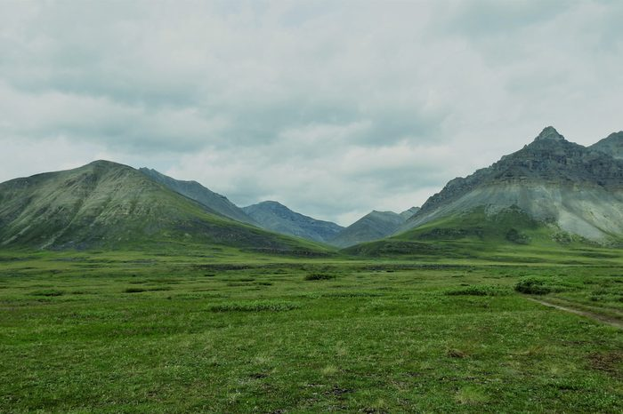 Brooks Mountains at Gates of the Arctic National Park