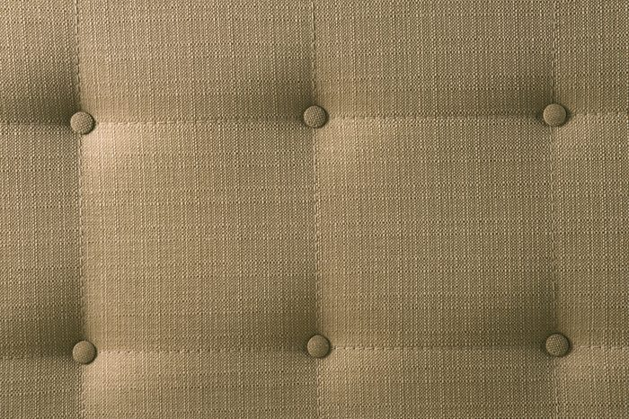 brown picture of genuine fabric upholstery