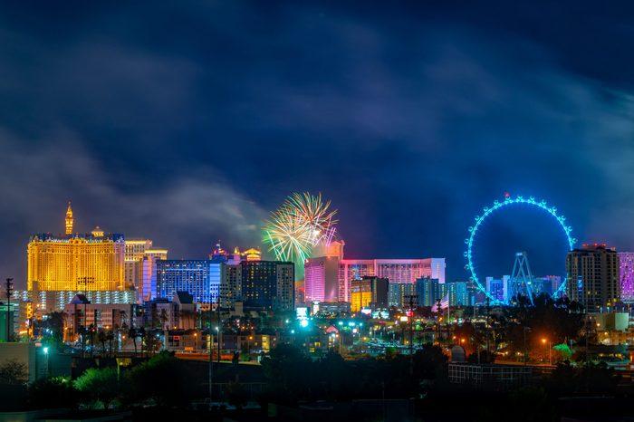 las vegas new year's celebration