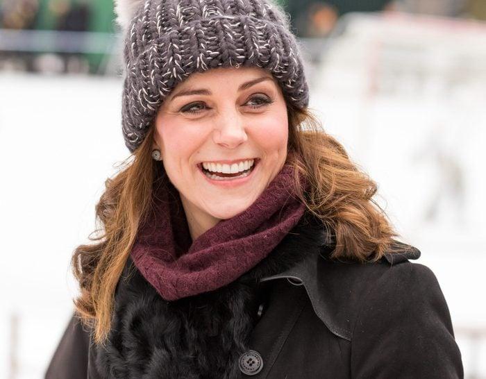 kate middleton at ice rink
