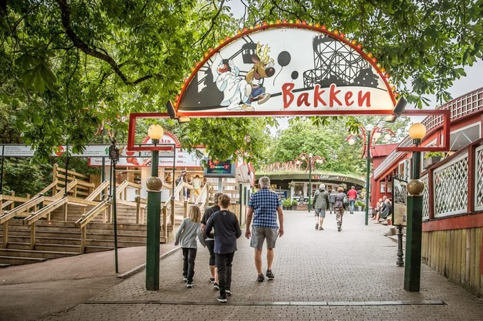 first amusement park bakken in denmark
