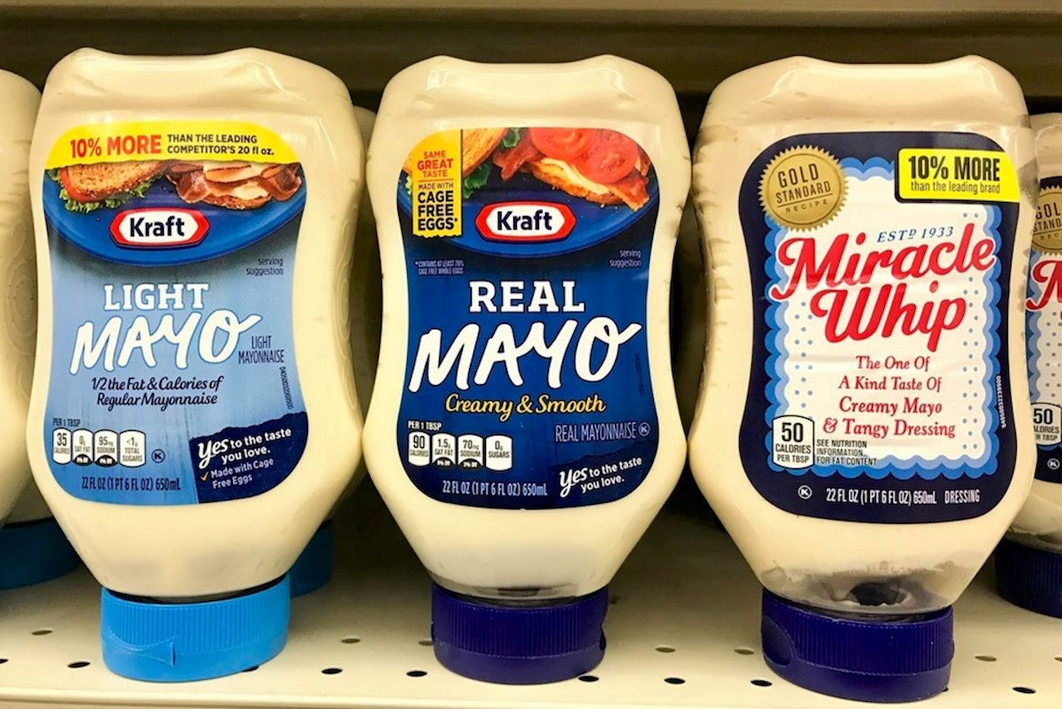 Mayonnaise and Miracle Whip