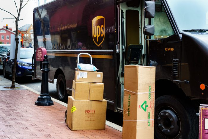 ups packages
