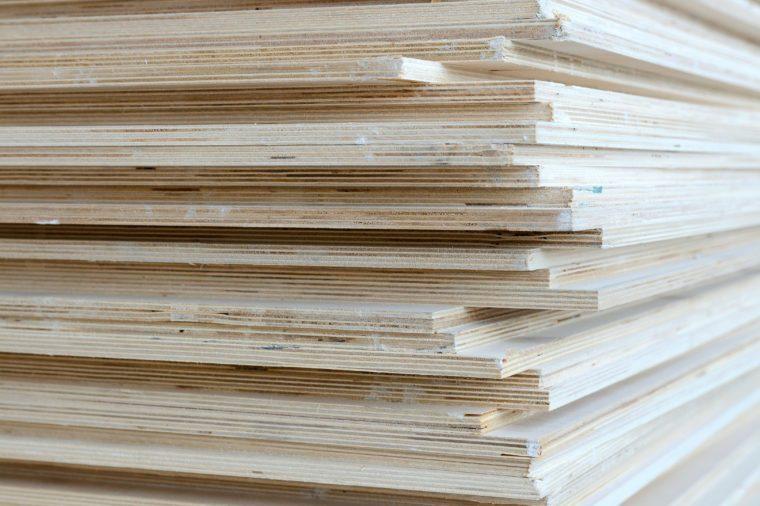 Batch of plywood