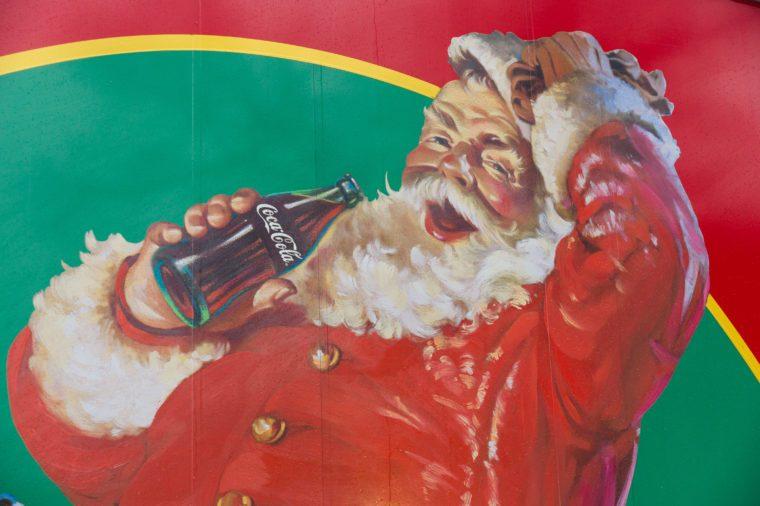 coca cola santa claus christmas