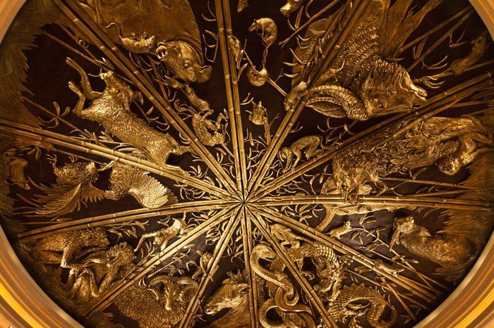 Golden Chinese Zodiac