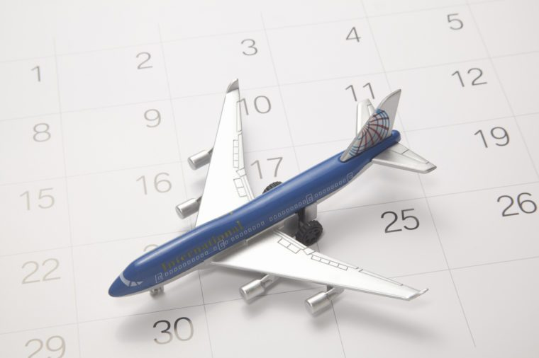 Calendar And The Toy Plane