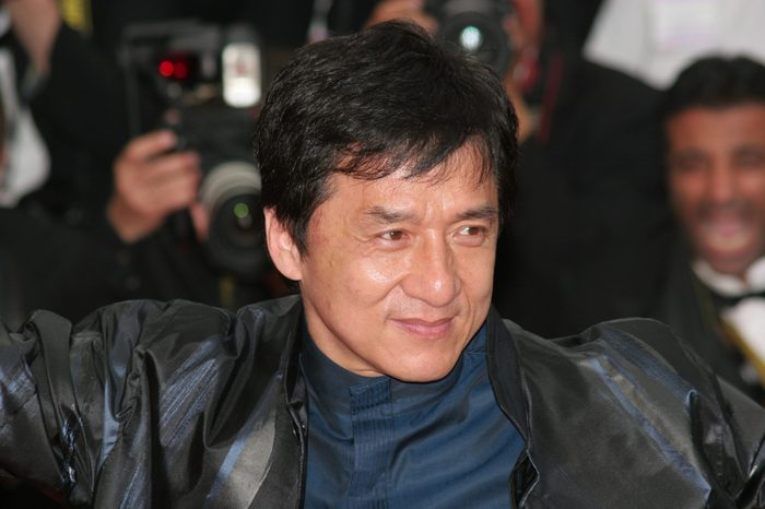 CANNES, FRANCE - MAY 19: Actors Jackie Chan attends the La Silence de Lorna premiere at the Palais des Festivals during the 61st Cannes International Film Festival on May 19, 2008 in Cannes, France.
