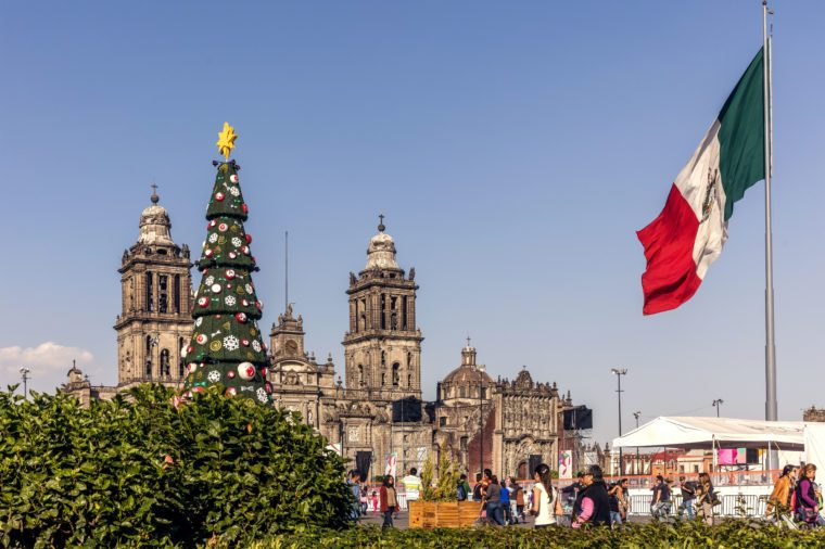christmas time in mexico city