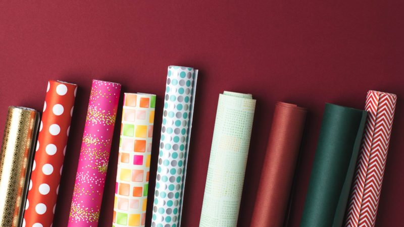 why you shouldn't recycle gift wrap
