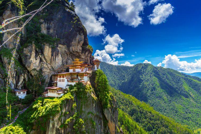 Taktshang Goemba, Tiger nest monastery, Bhutan