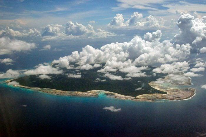 North Sentinel Island, India