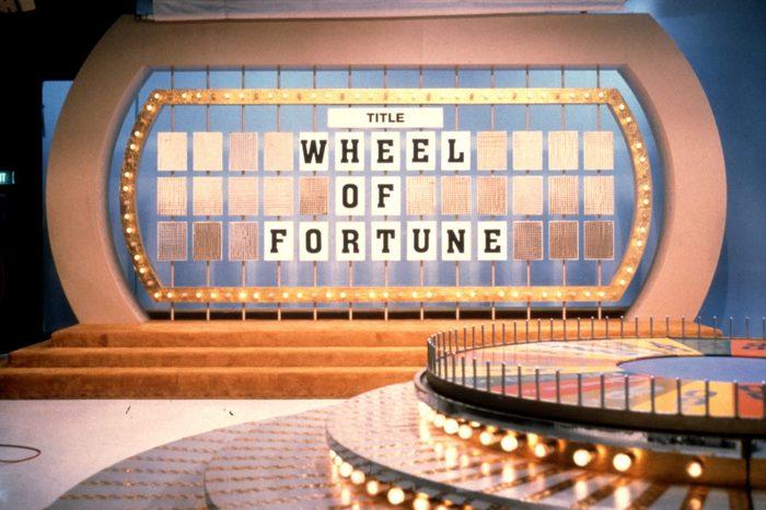 wheel of fortune studio set