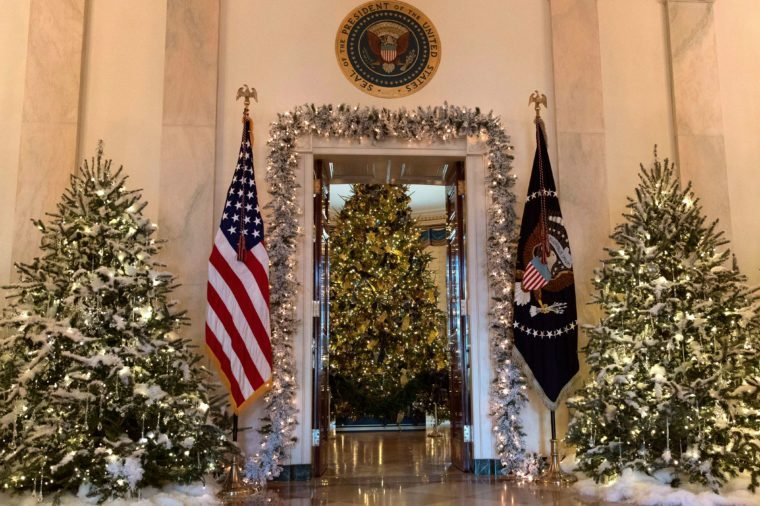 white house christmas decorations