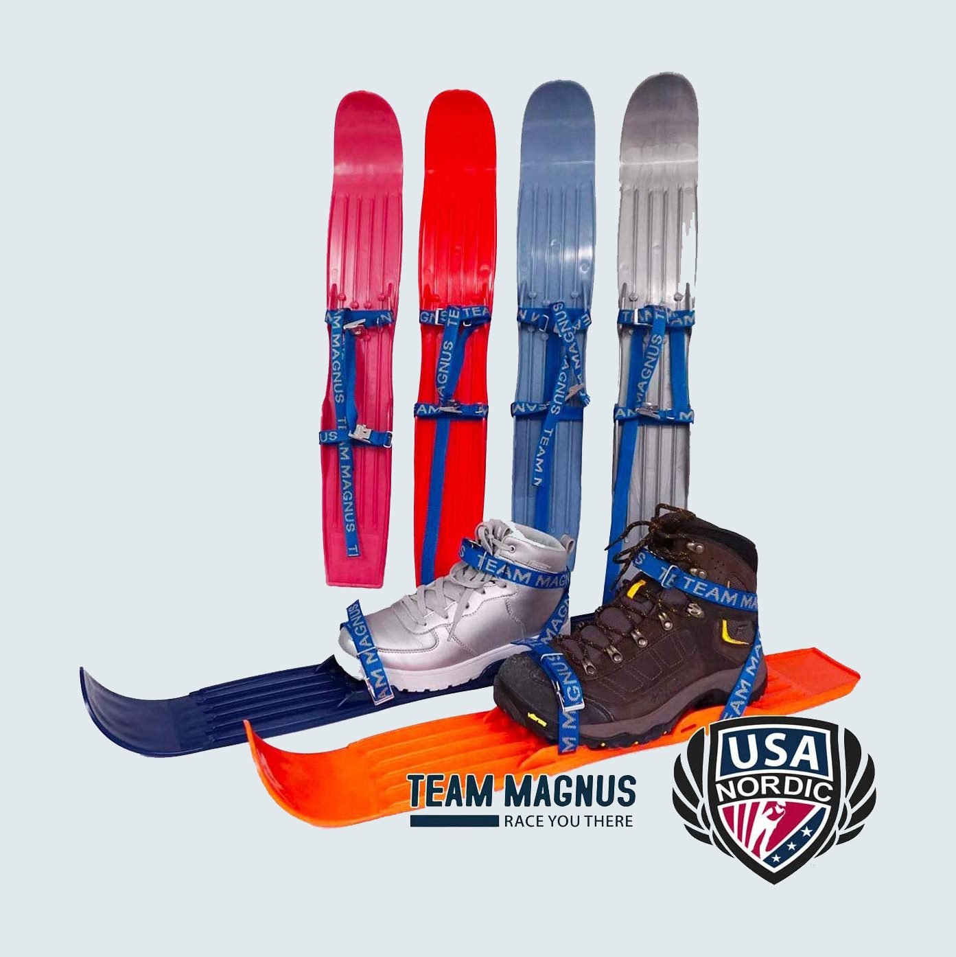 Team Magnus Snow Skis for Kids