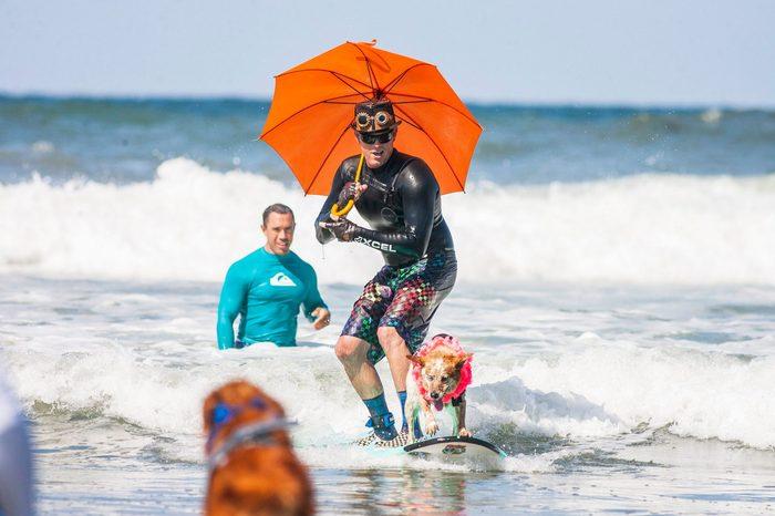 Surf Dog Surf-A-Thon, Del Mar North Beach, USA - 08 Sep 2019