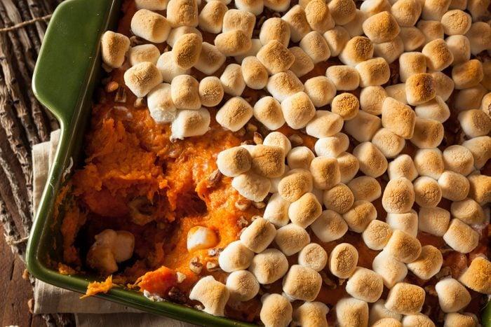 Homemade Sweet Potato Casserole for Thanksgiving