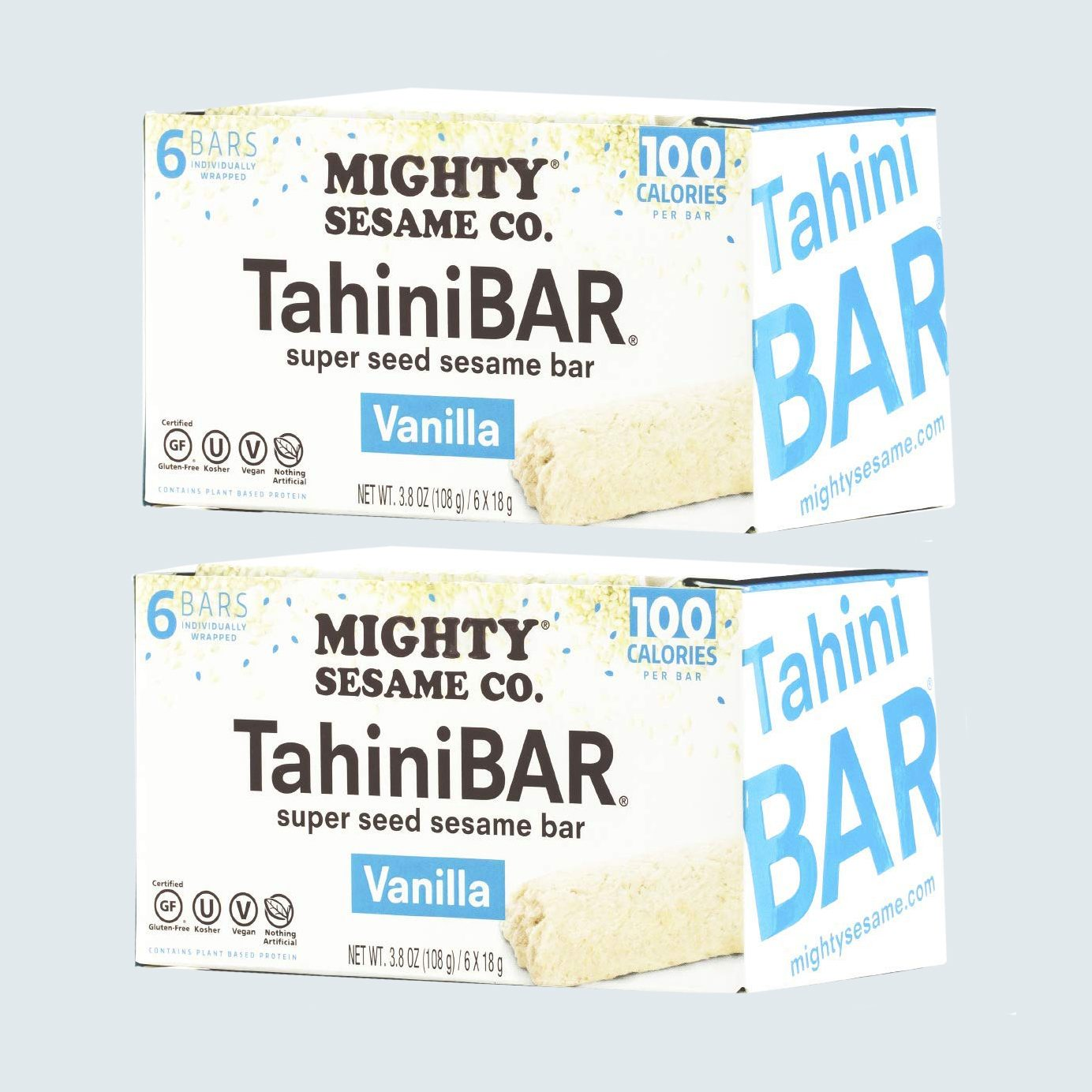 Mighty Sesame Co. 100-Calorie TahiniBars