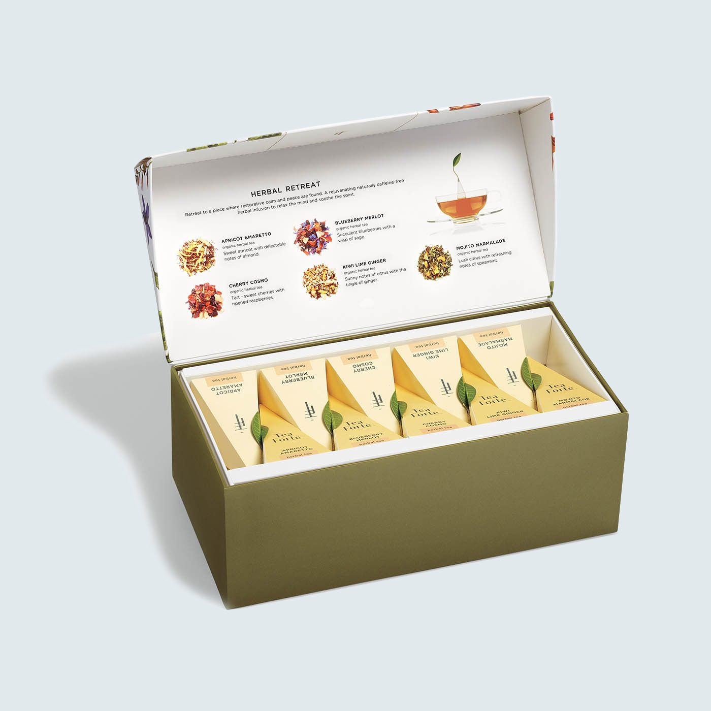 Tea Forté Presentation Box Herbal Retreat