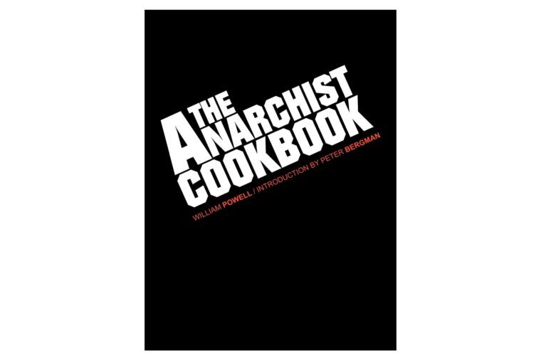 the anarhcist cookbook book cover