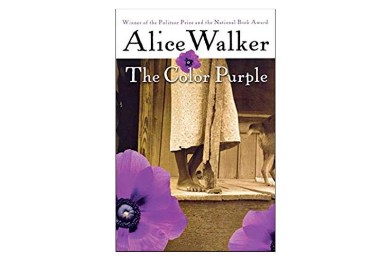 the color purple book cover