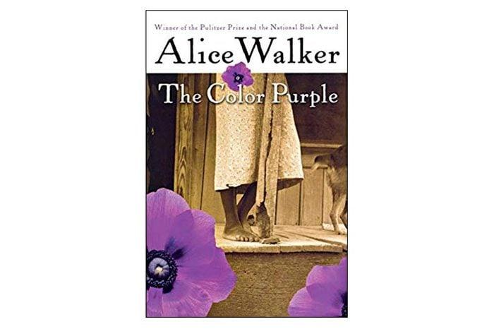 the color purple book cover