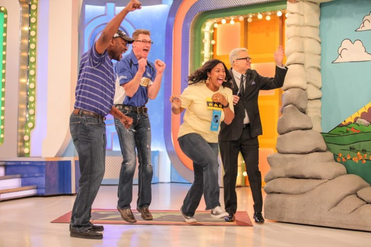 Mandatory Credit: Photo by Chelsea Lauren/Shutterstock (5682785gr) Drew Carey 'The Price is Right' Filming, CBS Studios, Los Angeles, America - 23 Mar 2016