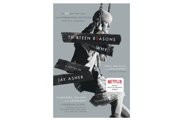 thirteen reasons why book cover