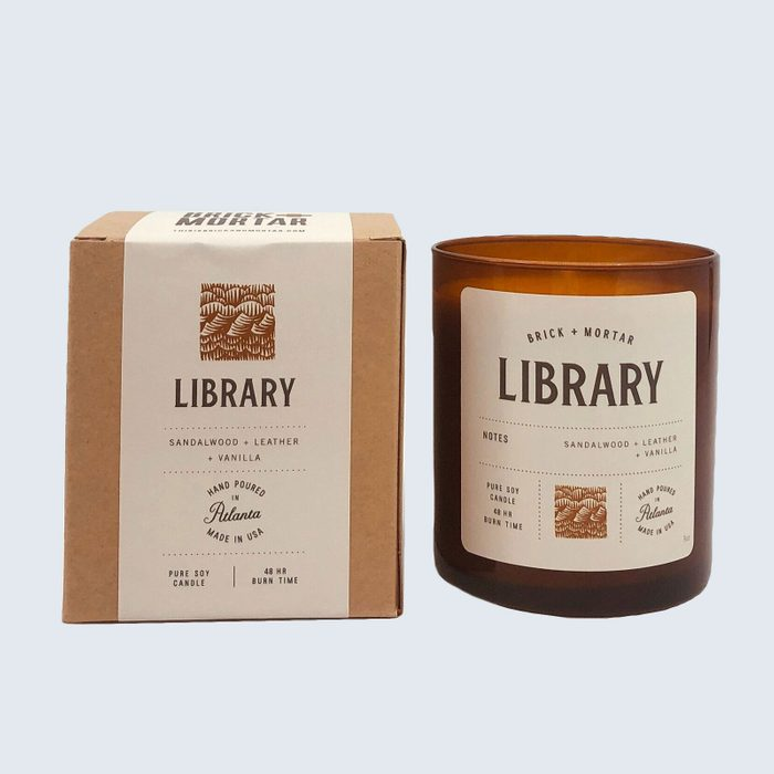 Brick + Mortar Library Candle