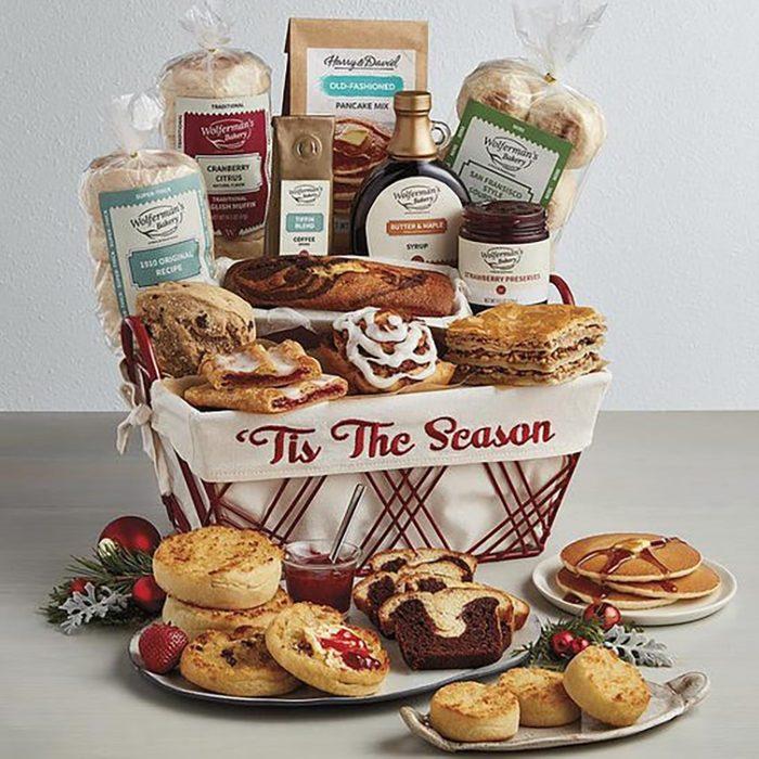 Wolferman's Deluxe Christmas Bakery Basket