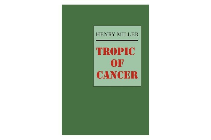 tropic of cancer book cover