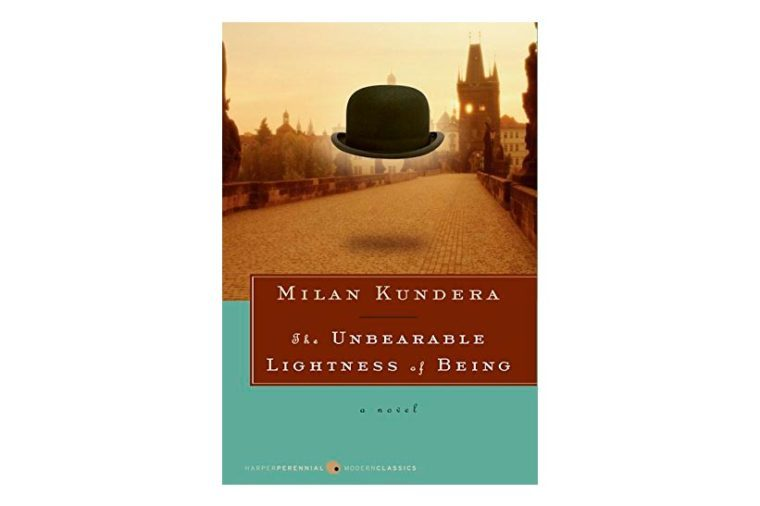 the unbearable lightness of being book cover